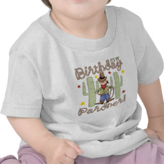 Cowboy Kids Birthday Tee Shirt