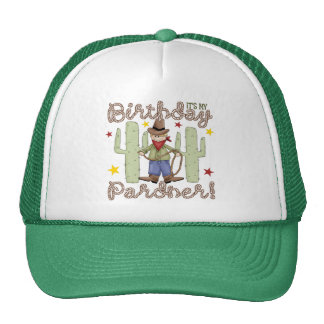 Cowboy Kids Birthday Trucker Hat