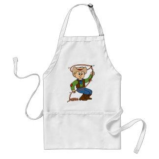 Cowboy Lasso Standard Apron