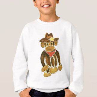 Cowboy Monkey Sweatshirt