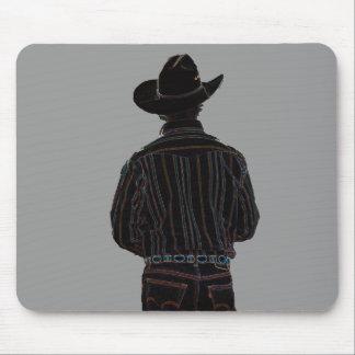 cowboy mouse mat