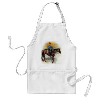 Cowboy n Sunset Standard Apron