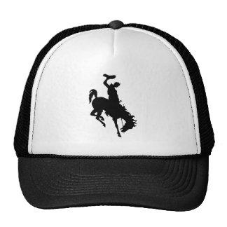 Cowboy on Bronco Bronc Cool Trucker Hat