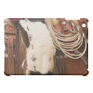 Cowboy on horse 2 iPad mini cover