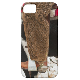 Cowboy on horse barely there iPhone 5 case