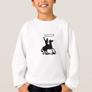 Cowboy on Horse Sweatshirt