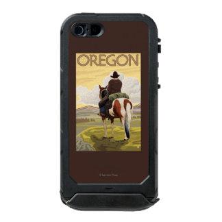 Cowboy on Horseback Vintage Travel Poster Incipio ATLAS ID™ iPhone 5 Case