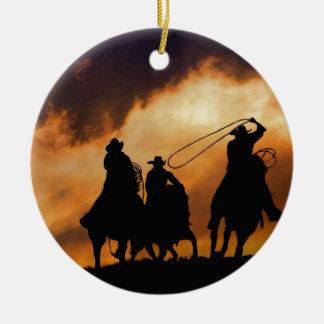 Cowboy Ornament