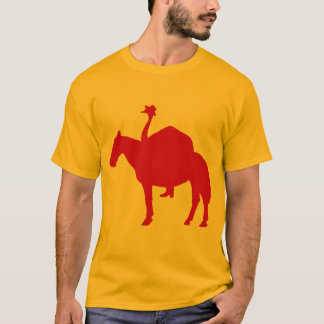 Cowboy Ostrich T-Shirt