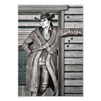 Cowboy Photo Print