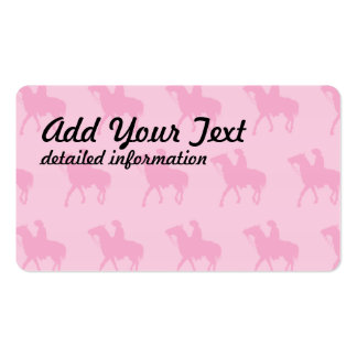 Cowboy Pinks Business Cards