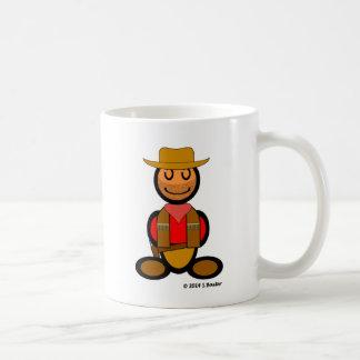 Cowboy (plain) coffee mug