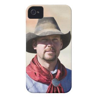 Cowboy portrait iPhone 4 case