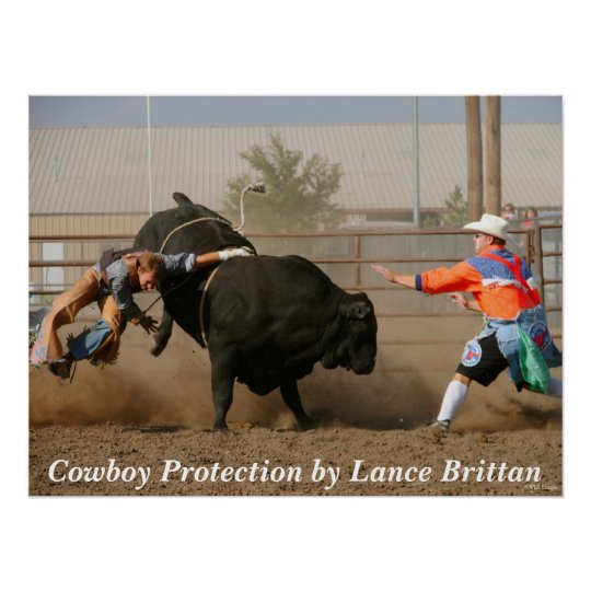 Cowboy  Protection Poster