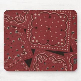 Cowboy Red Bandana Mousepad
