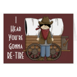 Cowboy Retirement Wishes - Western Humour