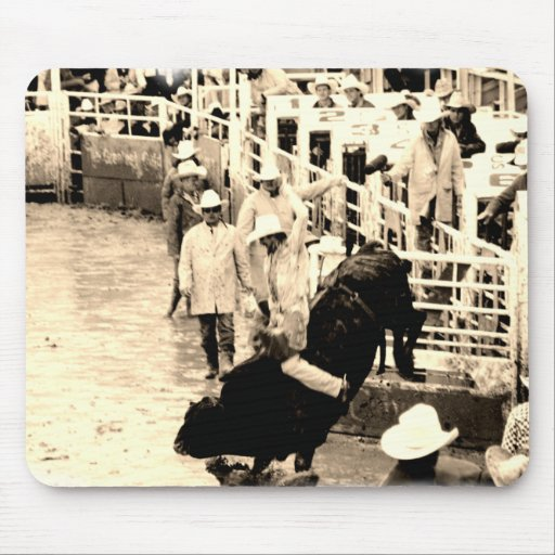 Cowboy Rodeo Mouse Pad