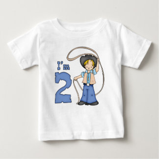 Cowboy Roper 2nd Birthday Baby T-Shirt