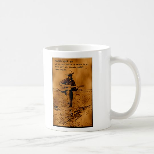 Cowboy Rule #17 Coffee Mug