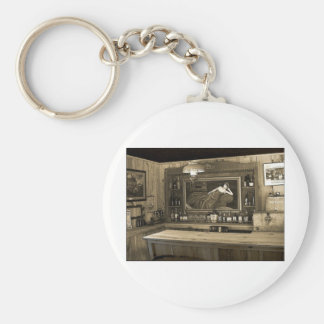 Cowboy Saloon Key Ring