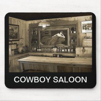 Cowboy Saloon Mouse Pad