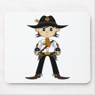 Cowboy Sheriff Mousepad