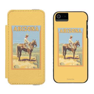 Cowboy (Side View)Arizona Incipio Watson™ iPhone 5 Wallet Case
