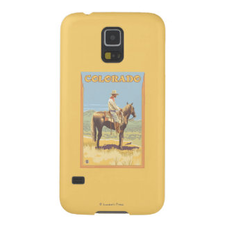 Cowboy (Side View)Colorado Galaxy S5 Cover