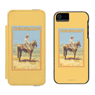 Cowboy (Side View)Colorado Incipio Watson™ iPhone 5 Wallet Case