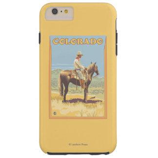 Cowboy (Side View)Colorado Tough iPhone 6 Plus Case