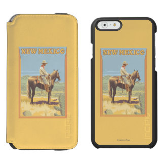 Cowboy (Side View)New Mexico Incipio Watson™ iPhone 6 Wallet Case