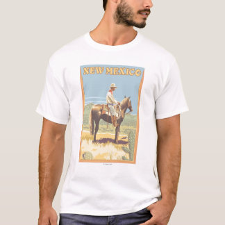 Cowboy (Side View)New Mexico T-Shirt
