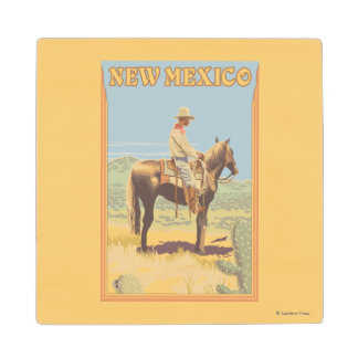 Cowboy (Side View)New Mexico Wood Coaster