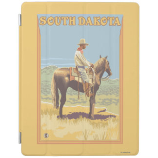 Cowboy (Side View)South Dakota iPad Cover