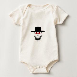 Cowboy Skull Baby Bodysuit