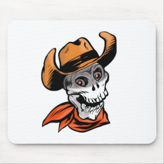 Cowboy Skull Mouse Pad