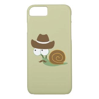 Cowboy Snail iPhone 7 Case