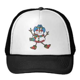 Cowboy Snowman Cap