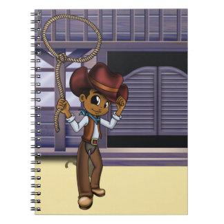"""Cowboy"" Spiral Notebook"