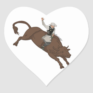 Cowboy Heart Sticker