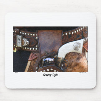 COWBOY STYLE MOUSE PAD