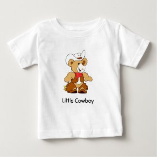 Cowboy Teddy Bear Baby T-Shirt