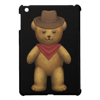 Cowboy Teddy Bear iPad Mini Cover