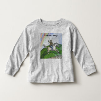 """Cowboy"" Toddler Long Sleeve T-Shirt"