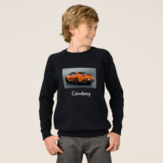 cowboy tube t-strits sweatshirt