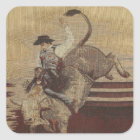 Cowboy Up Bull Rider Stickers