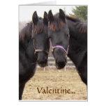 Cowboy  Valentine Greeting Cards