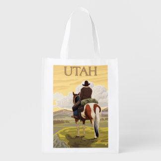 Cowboy (View from Back)Utah