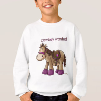 Cowboy Wanted Sweatshirt
