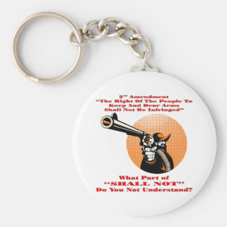 Cowboy What Part Of Shall Not Don't You Understand Key Chains